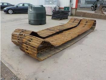 700mm Track Group to suit Hitachi ZX210LC (2 of) - chenille