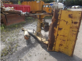 Frame Komatsu WA500-1 with lift cylinder and quick coupling - frame/ châssis