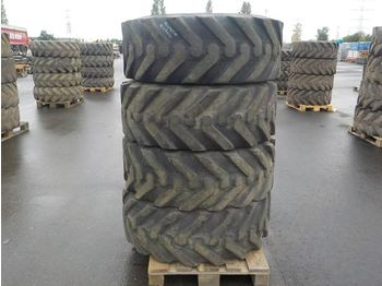 Michelin 15.5/80-24 Tyres to suit Telehandler (4 of) - pneux