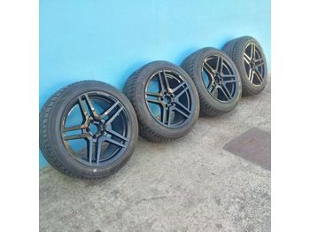 "MERCEDES-BENZ AMG 18"" with brand new 255/45R18 tyres - roues/ pneus"