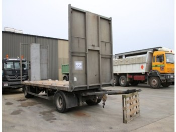 Remorque plateau GENERAL-TRAILER RT 19 - 4 X stock !