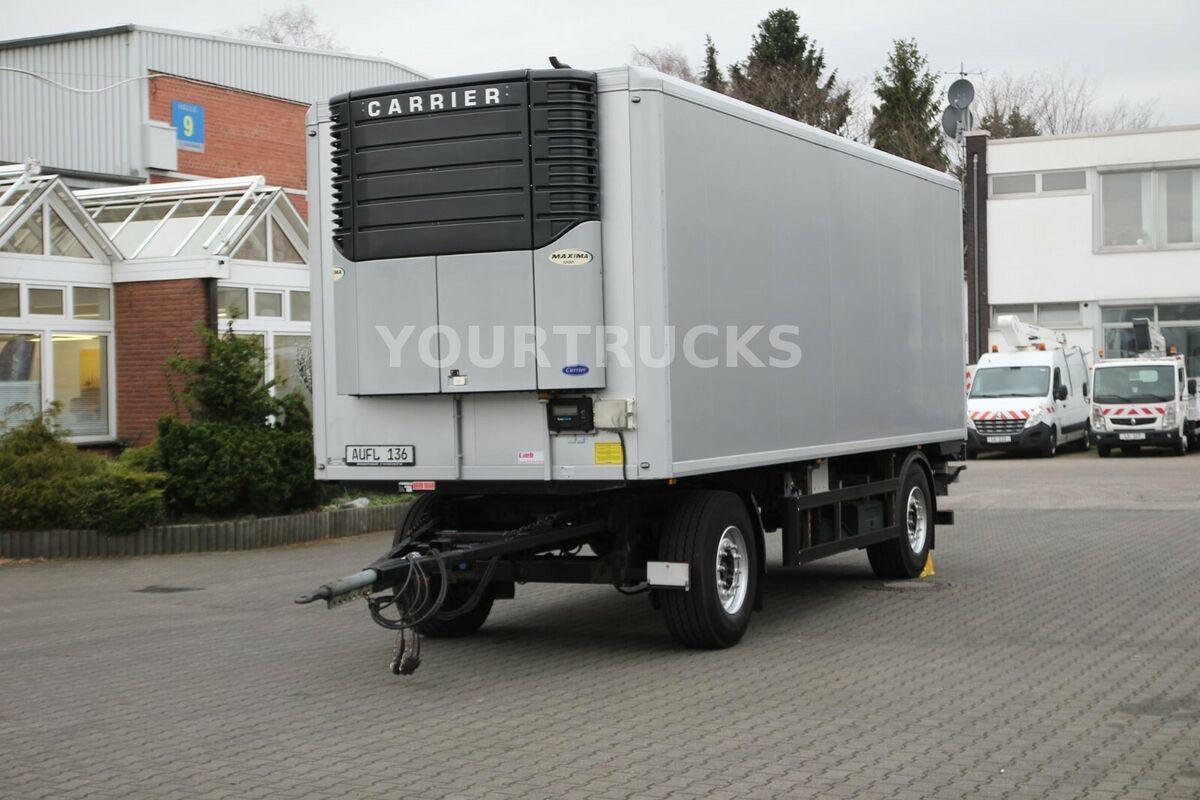 remorque frigorifique Ackermann Carrier Maxima 1000/ Strom/ Rolltor/ LBW