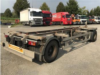 Remorque porte-conteneur/ caisse mobile  Ackermann-Fruehauf - 2 Achs Lafette EAF 18 7,4/105 TE