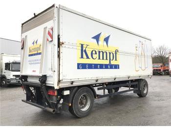 Remorque pour le transport de boissons  / -  Getränkeanh. Schwenkwand + LBW