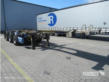 Semi-remorque SCHMITZ Auflieger Containerfahrgestell Slider