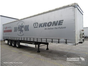 Semi-remorque bâche KRONE Auflieger Curtainsider Coil