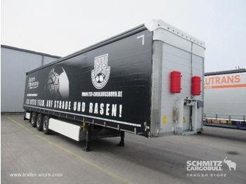 Semi-remorque bâche Schmitz Cargobull Curtainsider Standard