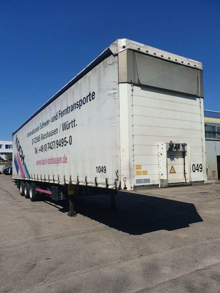 semi-remorque bâche Schmitz Cargobull SCS 24 MEGA Tautliner Lifta. Hubdach verbr.3.5 m