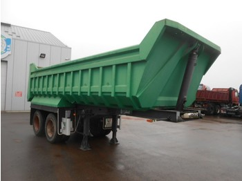 Semi-remorque benne Lecinena UNUSED - 2 axles tipper - steel susp - drum brakes - 18 m³