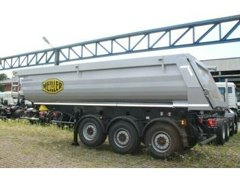 Semi-remorque benne Meiller Meiller MHPS 44/3 N 25m³ Stahl Mulde