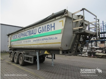 Semi-remorque benne SCHMITZ Auflieger Kipper Stahlrundmulde 36m³
