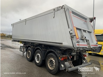 SCHMITZ Tipper Alu-square sided body 39m³ - semi-remorque benne