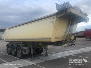 SCHMITZ Tipper alu-square sided body 24m³ - semi-remorque benne
