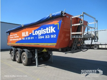Semi-remorque benne Schmitz Cargobull Tipper Alu-square sided body 27m³