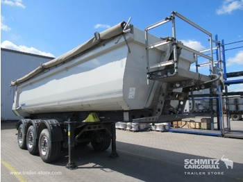 Semi-remorque benne Schmitz Cargobull Tipper Steel half pipe body 24m³