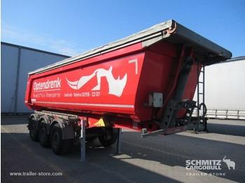 Semi-remorque benne Schmitz Cargobull Tipper Steel half pipe body 29m³