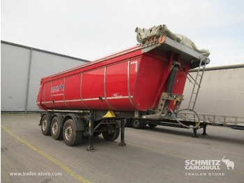 Schmitz Cargobull Tipper Steel half pipe body Insulated Hollow - semi-remorque benne