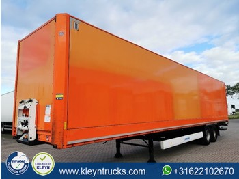 Semi-remorque fourgon Krone 2 AXLE DRYLINER taiilift back doors