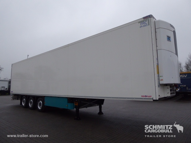 semi-remorque fourgon SCHMITZ Auflieger Tiefkühler Multitemp Double deck