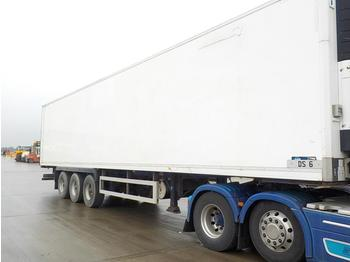 Semi-remorque frigorifique 2006 Montracon Tri Axle Refrigeration Trailer