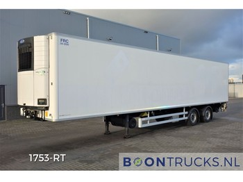 Chereau INOGAM + CARRIER VECTOR | 2 x STEERING AXLE * TAILLIFT * MULTITEMP - semi-remorque frigorifique