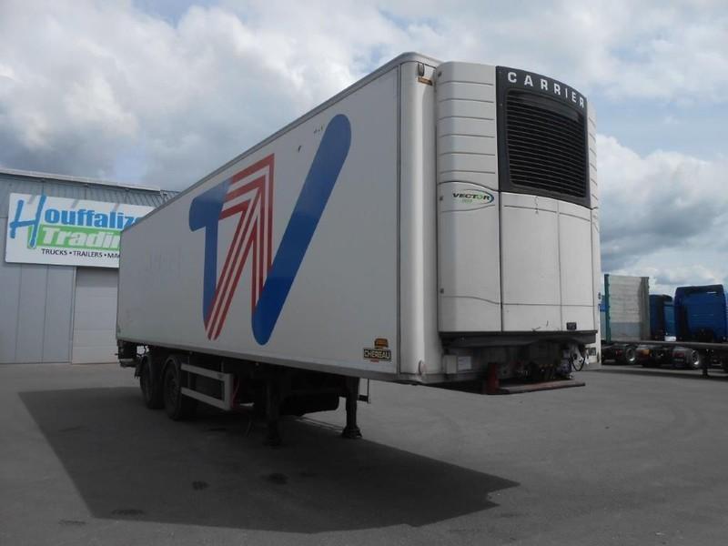 semi-remorque frigorifique Chereau Inogam 2012 - Vector 1850