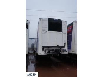 Chereau semitrailer with two temp - semi-remorque frigorifique
