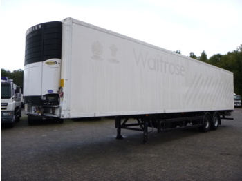 Semi-remorque frigorifique Gray Adams Frigo trailer + Carrier Vector 1800 diesel/electric
