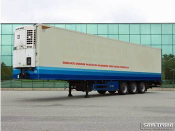 Semi-remorque frigorifique Heiwo HZO 39 THERMO KING SPECTRUM BPM AXLES 250 WIDE 270 HIGH TAIL LIFT