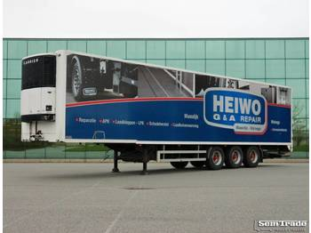Heiwo HZP 39 A CARRIER BPM AXLE TAIL LIFT - semi-remorque frigorifique