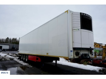 Køgel 3 axle 2 temp thermo trailer - semi-remorque frigorifique