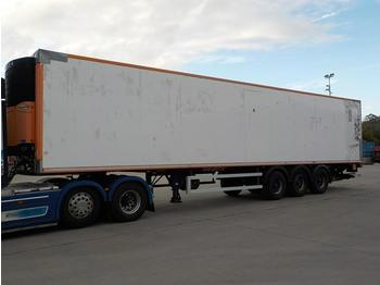 Semi-remorque frigorifique Montracon Tri Axle Refrigeration Trailer, Tail Lift, Carrier Fridge