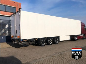 Semi-remorque frigorifique Schmitz Cargobull SKO24 FLOWER WIDE / CARRIER vector1800 DHOLLANDIA 2500 / BPW AXLES
