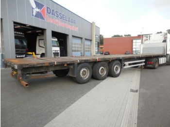 Semi-remorque plateau Schmitz Cargobull S01, Kooi-aap, 2 x Lift-as, SAF,: photos 1