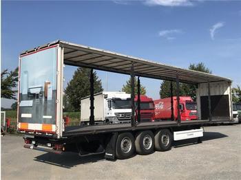 Semi-remorque plateau ridelle  Krone - 3 ACHS AUFLIEGER SD Standard