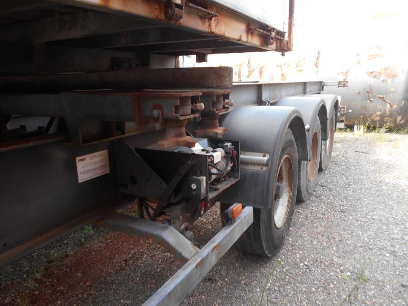 semi-remorque porte-conteneur/ caisse mobile Asca