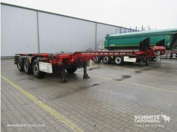 Semi-remorque porte-conteneur/ caisse mobile KRONE Auflieger Containerfahrgestell Slider