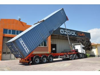 OZGUL DAMPERED TYPE CONTAINER CARRIER - semi-remorque porte-conteneur/ caisse mobile