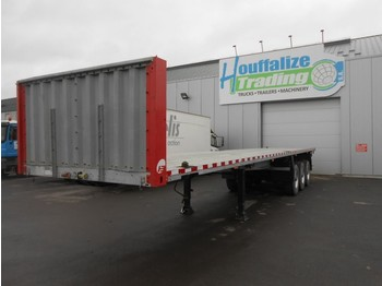 Semi-remorque porte-conteneur/ caisse mobile Schmitz Cargobull Platform twistolocks - full steel/drum brakes