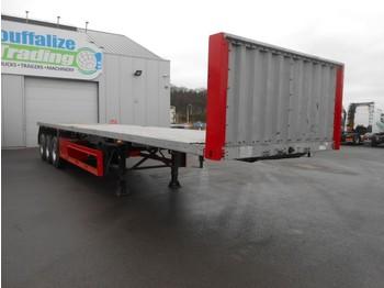 Semi-remorque porte-conteneur/ caisse mobile Schmitz Cargobull Platform twistolocks - full steel/drum brakes - 30 pieces available