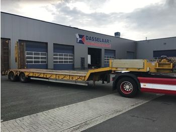 Kaiser 2-axle Low loader, with Ramps, Hydro-Winch, S 380 2F - semi-remorque surbaissé