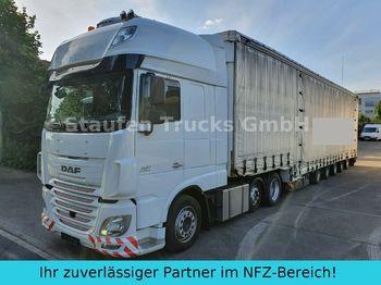 Tracteur routier DAF 106 510 SSC MEGA ZUG Schwerlast 8 Achsen DINKEL