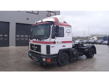 MAN 17.292 (6 CYLINDER ENGINE WITH MANUAL PUMP) - tracteur routier