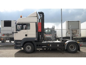 Tracteur routier MAN TGA 18.390 ADR TRUCK WITH WITTIG PUMP
