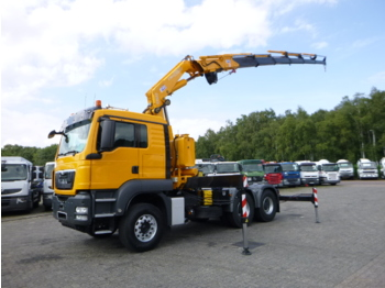 M.A.N. TGS 33.540 6x4 + Fassi F380A.26 + winch - tracteur routier
