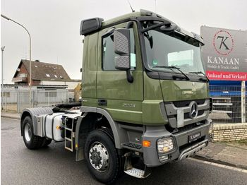 Mercedes-Benz 2044 AS Actros 4x4 Hydraulik 3 Pedal STEEL  - tracteur routier