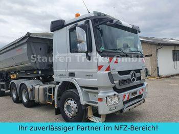 Tracteur routier Mercedes-Benz Actros 2655 K  6x4 V8 MP3 Klima Intarder EURO 5