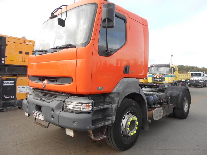 tracteur routier Renault Kerax 420 DCI