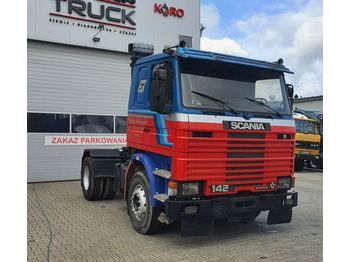 SCANIA T142. 450, Full Blat, Manual , V8 - tracteur routier