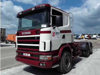 Scania 144 530 6x4 manual lames/Steel - tracteur routier